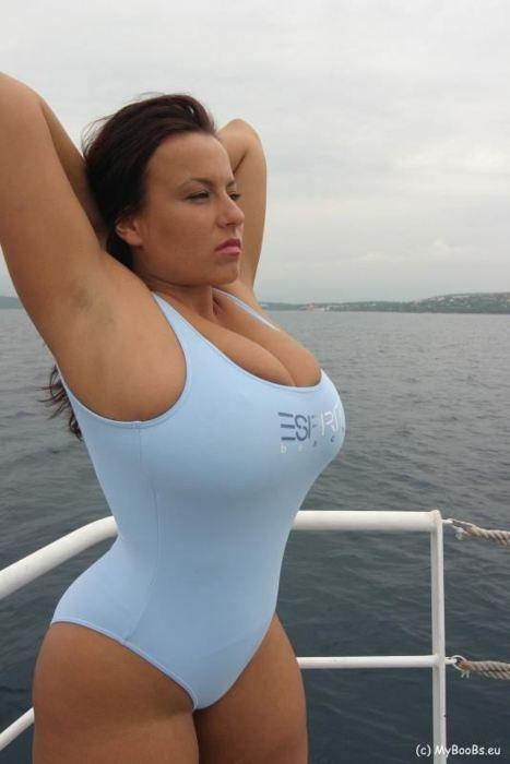 aneta bikini blue buena