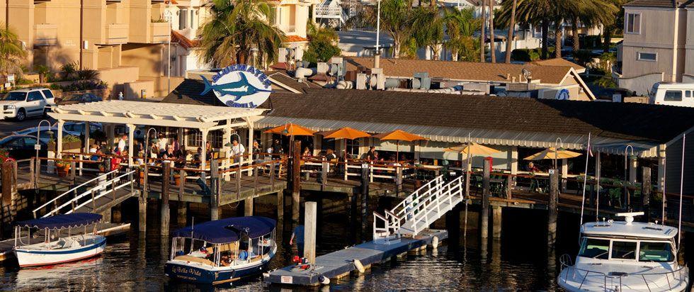 Blue Water Grill Newport Beach Menus Food Locations