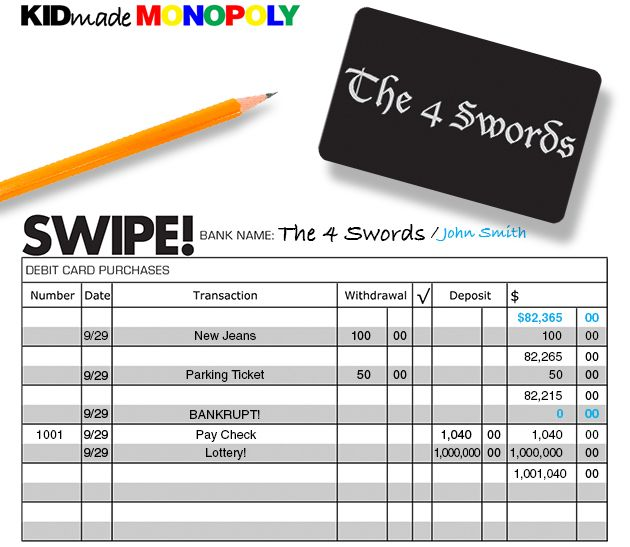 Kid-Made Monopoly: A Fun Way to Teach Adding & Subtracting Decimals ...