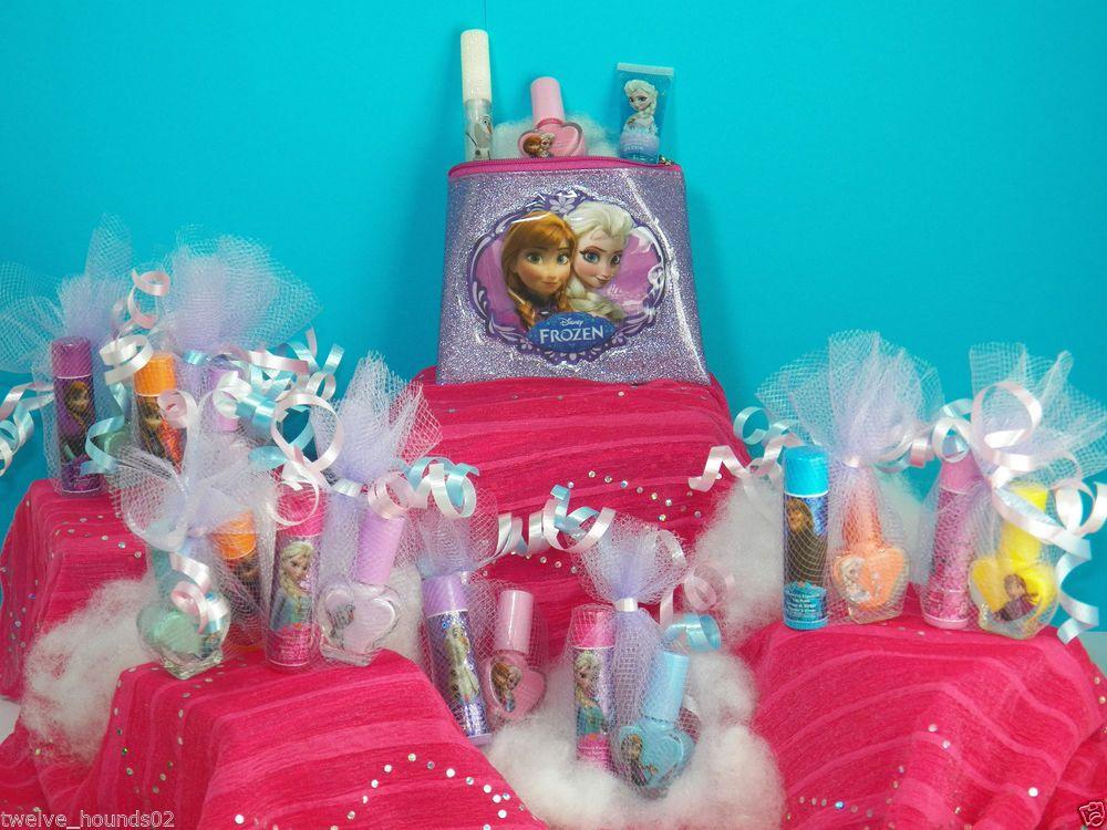 10 Disney Frozen Elsa Anna Olaf Birthday Party Favors Nail
