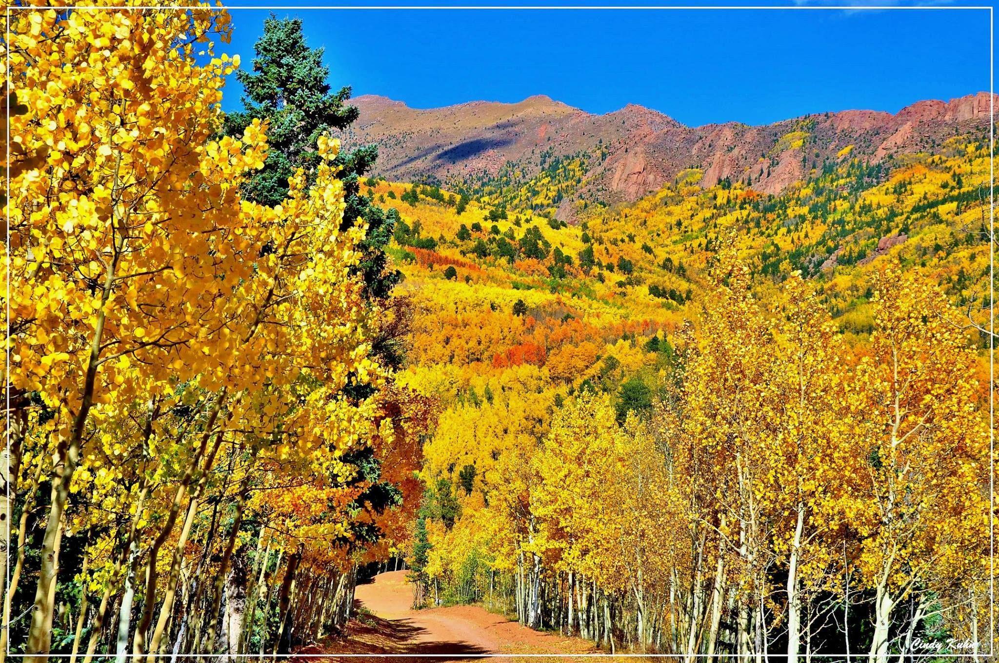 Highway 67 to Cripple Creek, Colorado