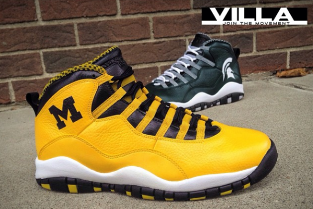 100% authentic 20ce1 8b4dc The Air Jordan 10 Retro 'A State Divided' Customized by ...