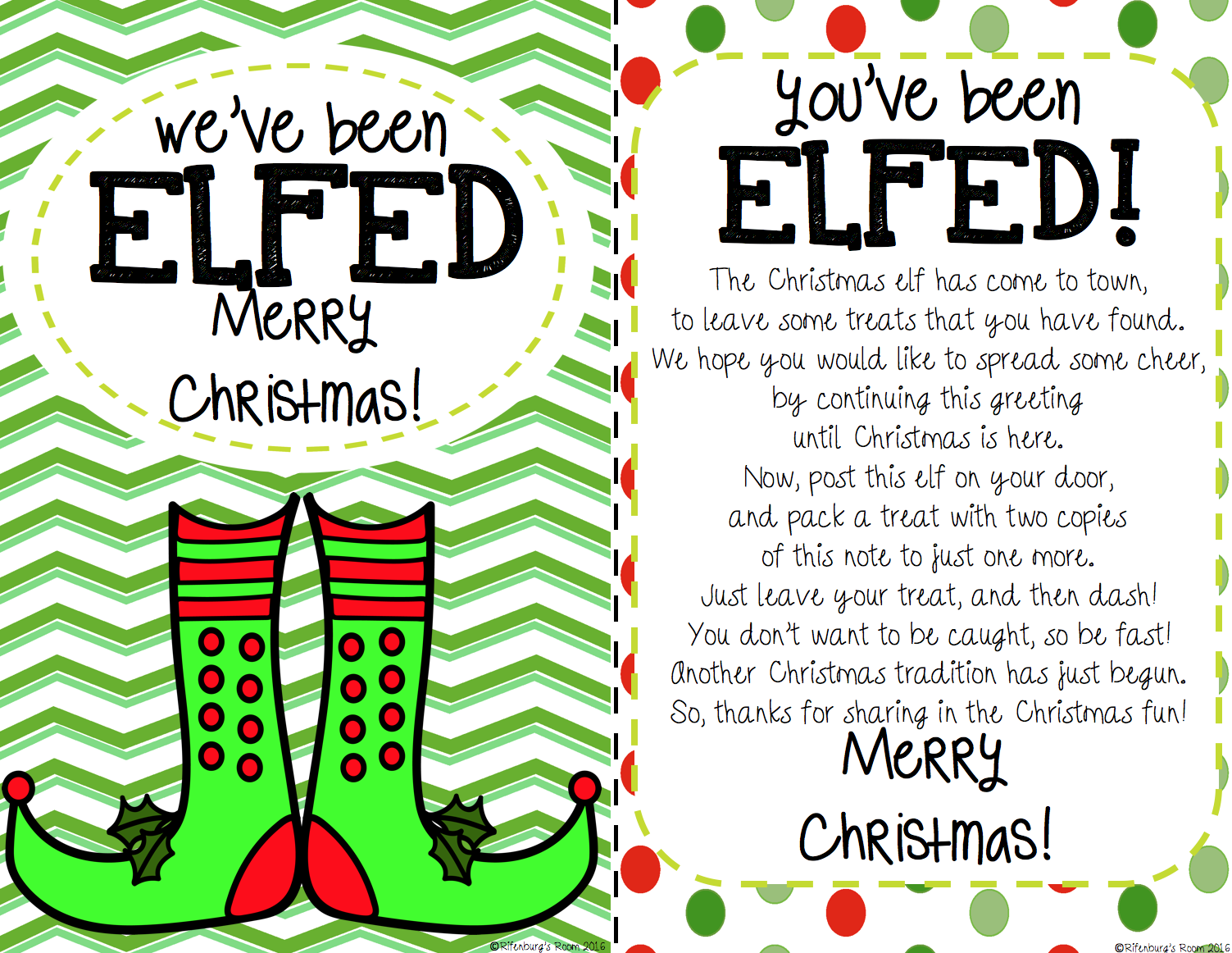 photo about You've Been Elfed Free Printable titled Youve Been Elfed-Elf Exciting-Elf Printable - ELFED Printable