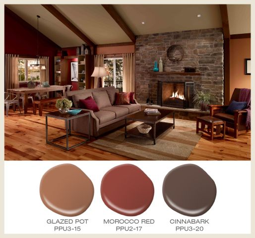 Colorfully Behr Color Of The Month Terracotta Hearth And Home Pinterest Behr Colors