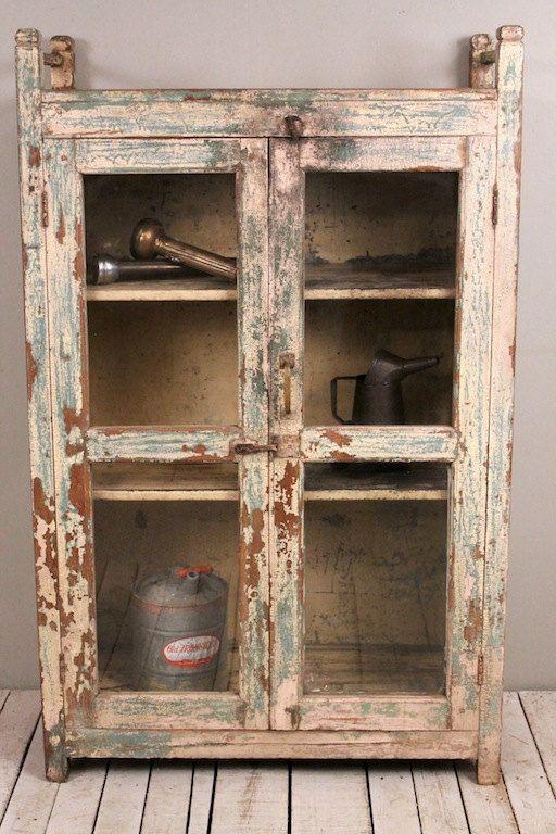 Antique Distressed Alligatored Wood Metal By Hammerandhandimports 949 00 Kitchen Cabinets For Sale Distressed Kitchen Cabinets Distressed Kitchen