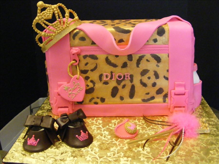 High Quality Leopard Baby Shower Decorations | Baby Diva Diaper Bag U2014 Baby Shower