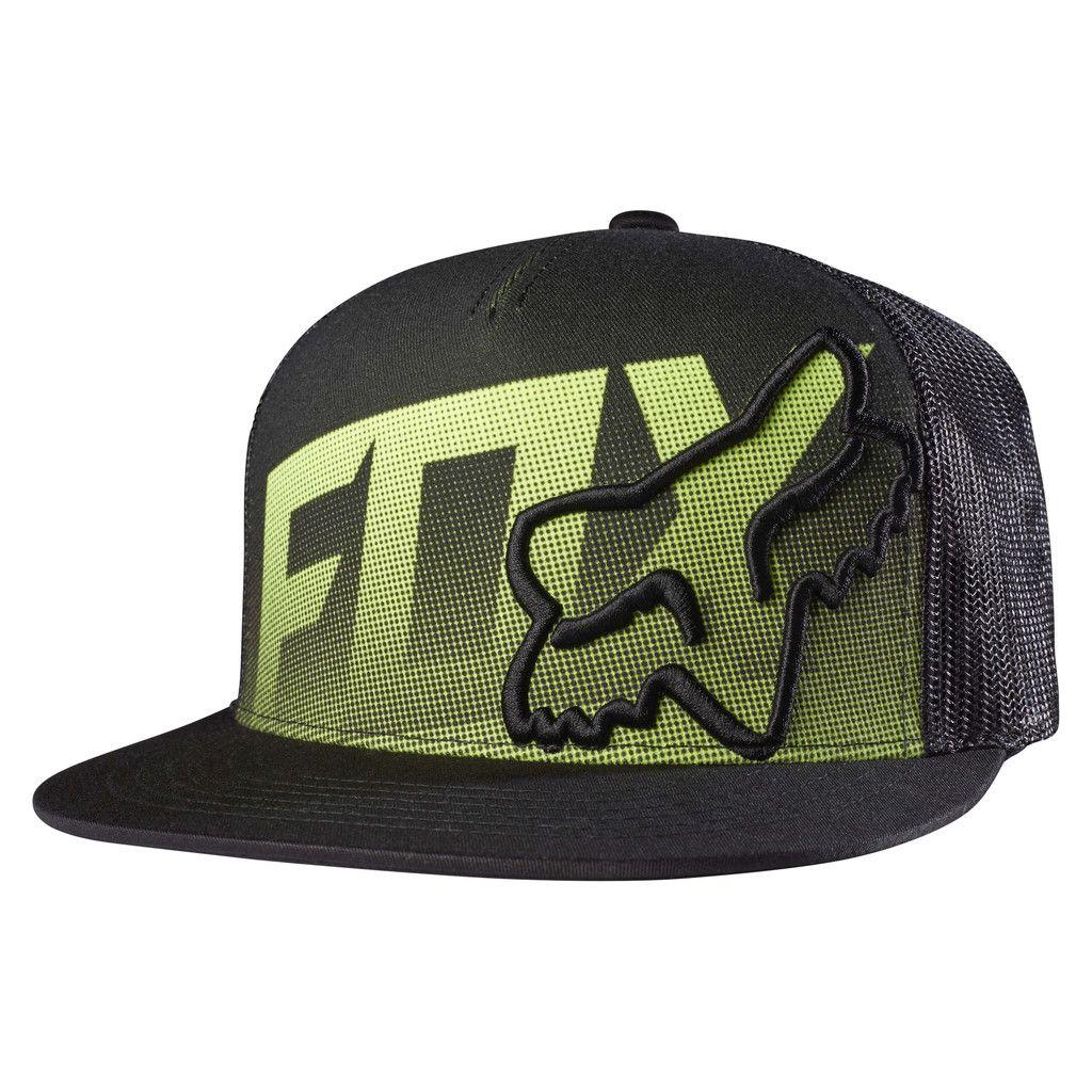 Fox racing mens static snapback hat hats fox racing