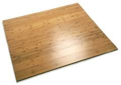 Bambusparkett Fussbodenheizung von einem natürlich organischem Material 100% für alle hausgemacht.