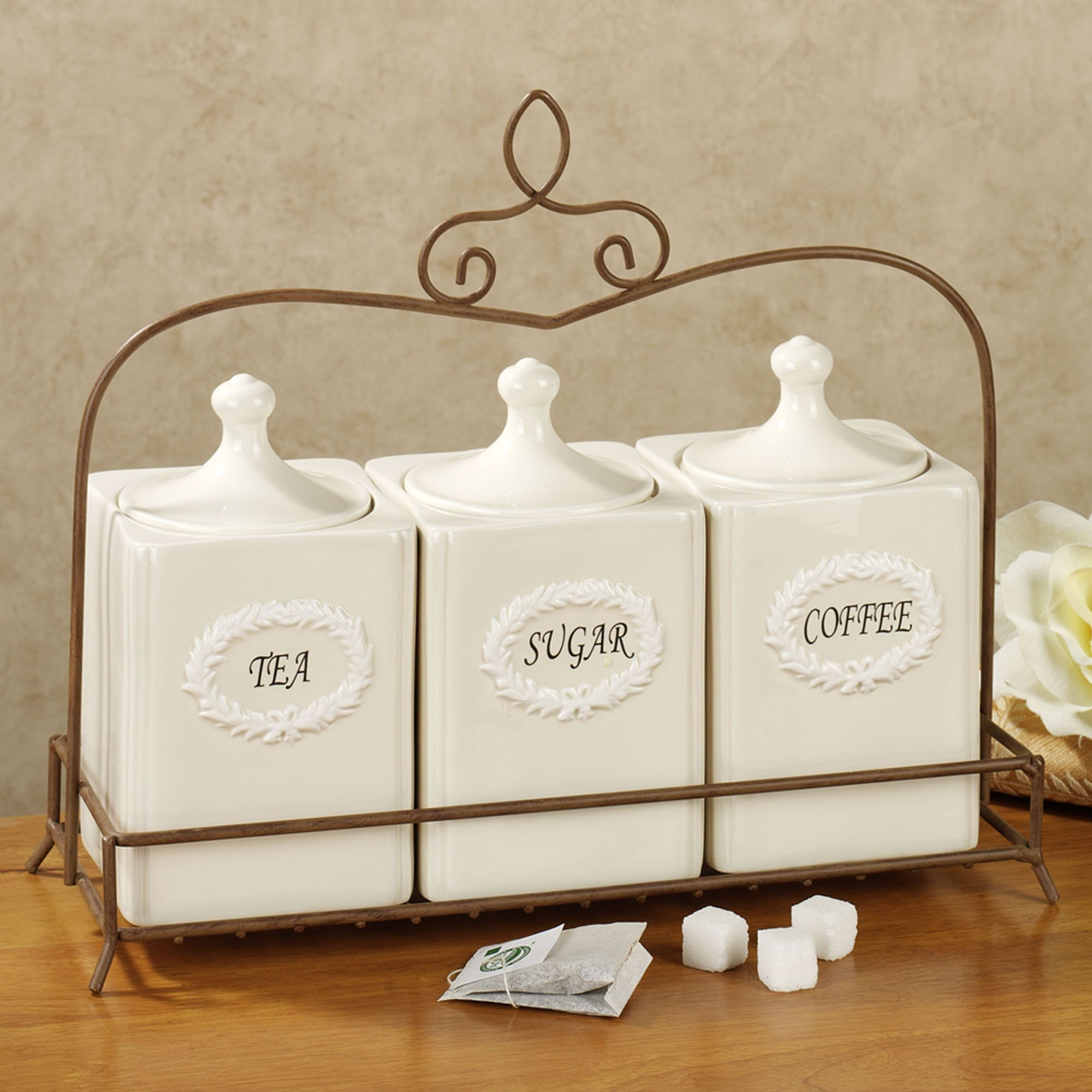 Interesting Kitchen Canisters For Kitchen Accessories Ideas ...