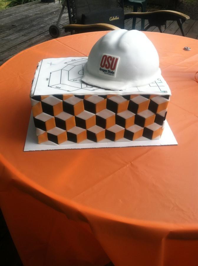 Civil Engineer graduation cake | Graduation cakes ...
