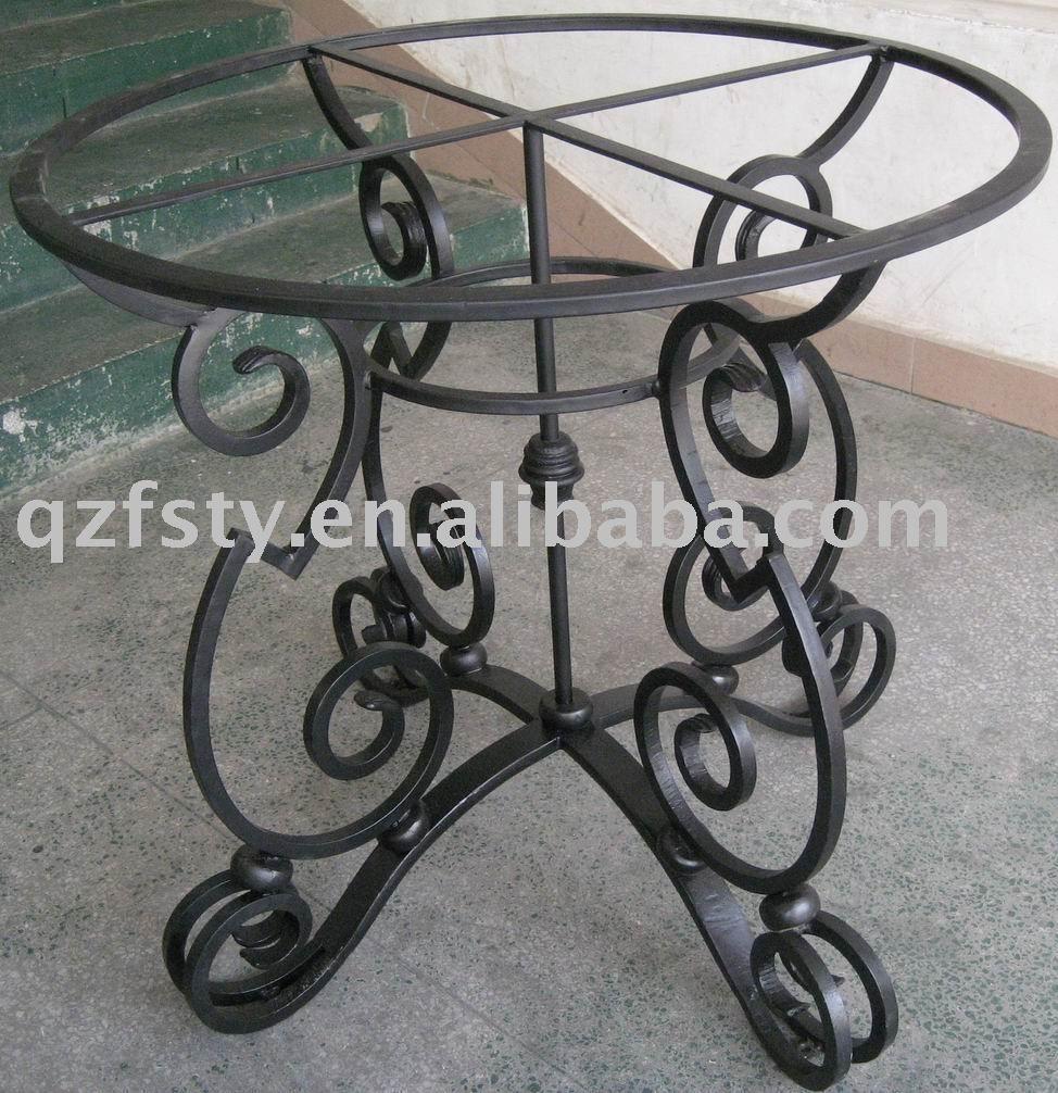 Mesa de hierro forjado forja pinterest iron table - Mesa de hierro ...