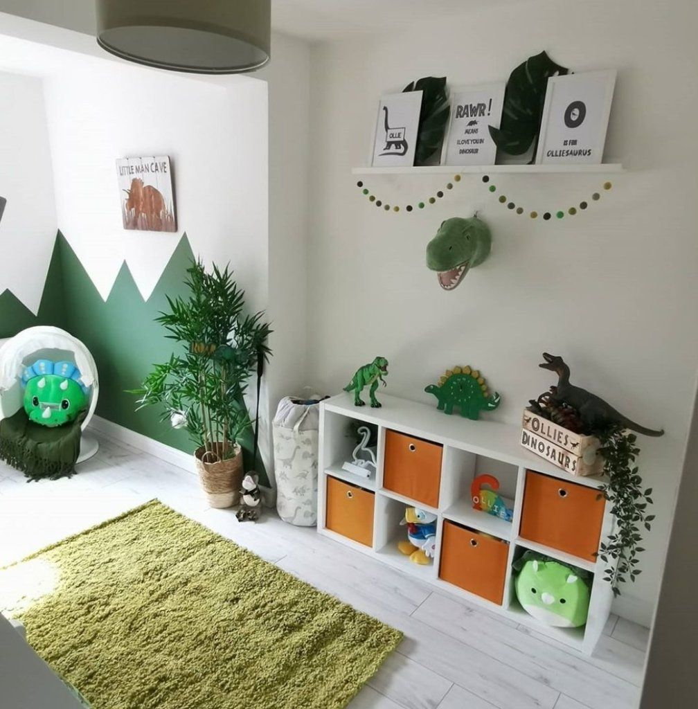 12 Amazing Dinosaur Inspired Bedrooms For Kids - Ideas ...