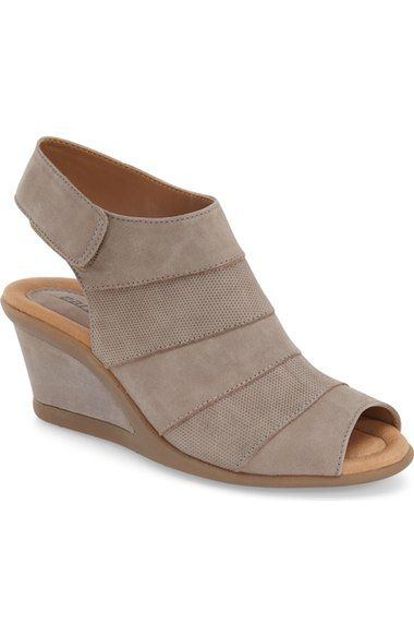 Earth® 'Coriander' Slingback Wedge Sandal (Women) available at #Nordstrom