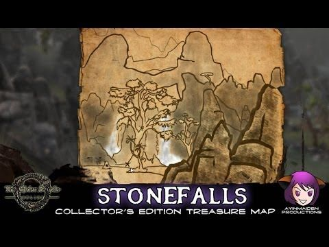 Stonefalls CE Treasure Map | ESO - Treasure Map | Treasure maps, Map ...