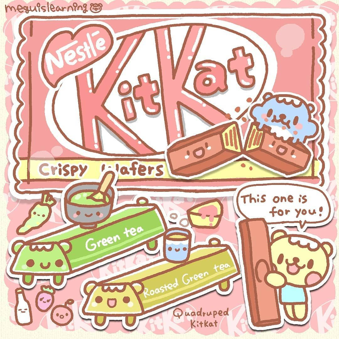 Megu On Instagram Kit Kat Is A Chocolate Covered Wafer Bar From