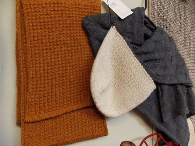 Shibui Fall/Winter 2015 Collection, on display at the Hillsborough Yarn Shop til September 27th, 2015!