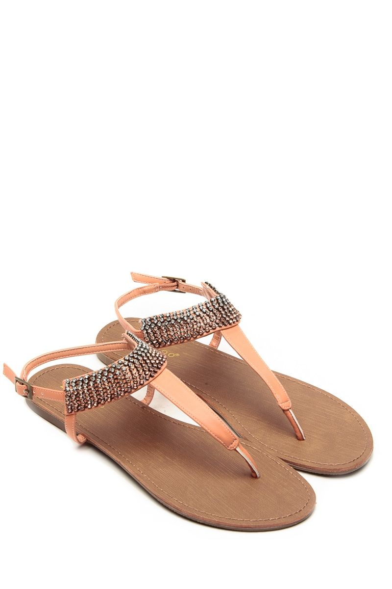 ac309b98603 Bamboo Rhinestone Melon Sandals   Cicihot Sandals Shoes online store sale  Sandals