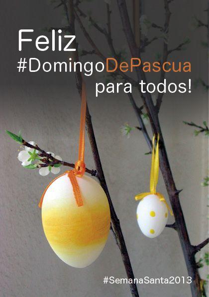 Os deseamos a todos una feliz celebración de la Pascua! #SemanaSanta 2013 #DomingoDePascua #Vielhaentumano #ValDAran