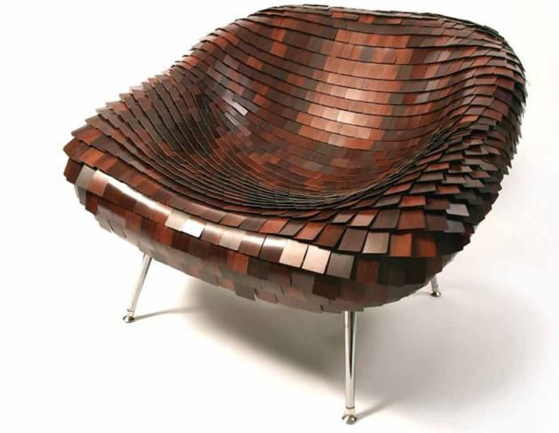 Armadillo Chair by Aodh O Donnell.