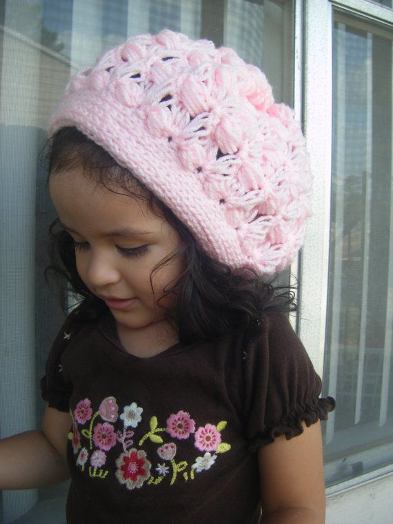 Crochet PATTERN-The Slouchy Beret (Baby, Toddler, Child, and Adult ...