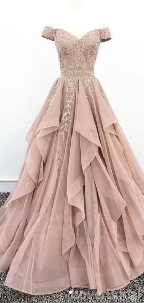 Robes De Bal Longue Soiree Dentelle Dentelle De Champagne Poussiereux Pas Cher Robes De Soiree 18627 En 2020 Robe De Bal Longue Robe De Bal Robe Soiree Longue