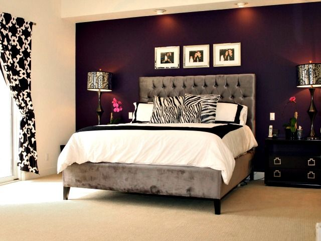 At Home With Patti Stanger 5 Tips For Decorating From The Millionaire Matchmaker Purple Accent