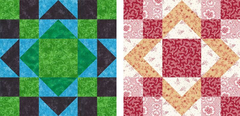 Try One Of My 12 Quilt Block Patterns Aunt Patterns And Patchwork