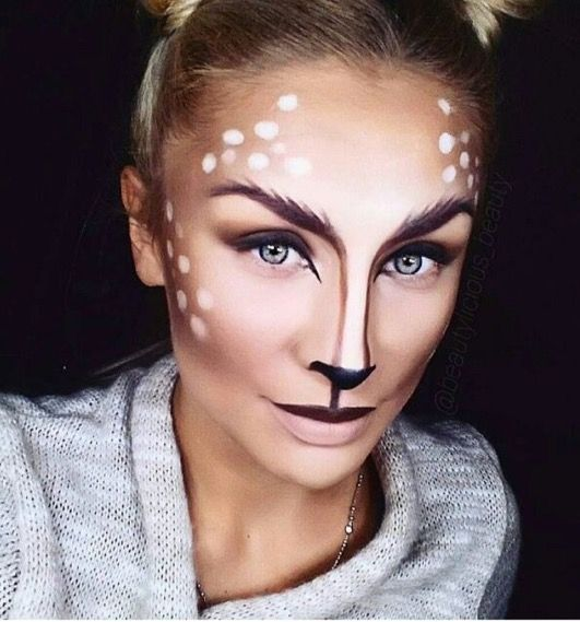 Photo of Bambi Halloween Makeup Tutorial – Lauren's Lip Glossary by Lauren Will