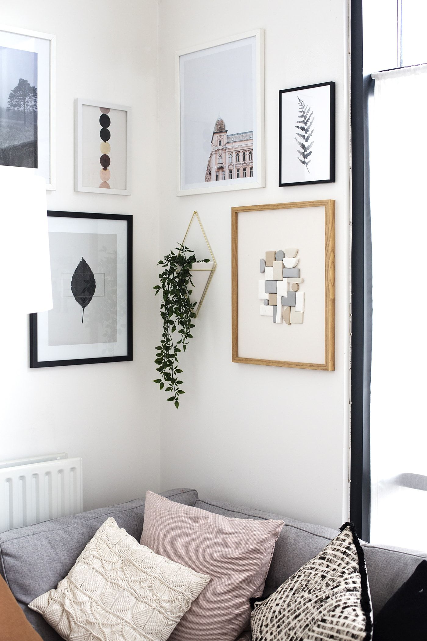 How To Style A Gallery Wall The Lovely Drawer Wall Decor Bedroom Gallery Wall Bedroom Diy Gallery Wall