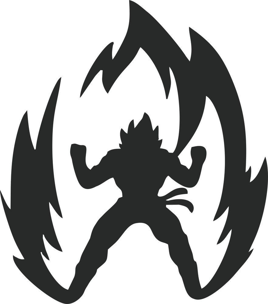 Bike stickers design joker - Details About Dragon Ball Z Super Saiyan Goku Anime Car Window Laptop Vinyl Decal Sticker