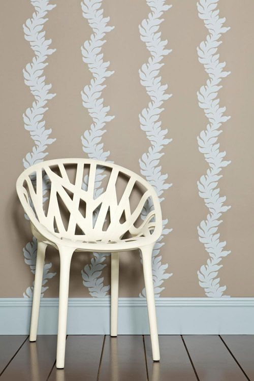 Acanthus Wallpaper Design By Farrow And Ball. | Home Decor