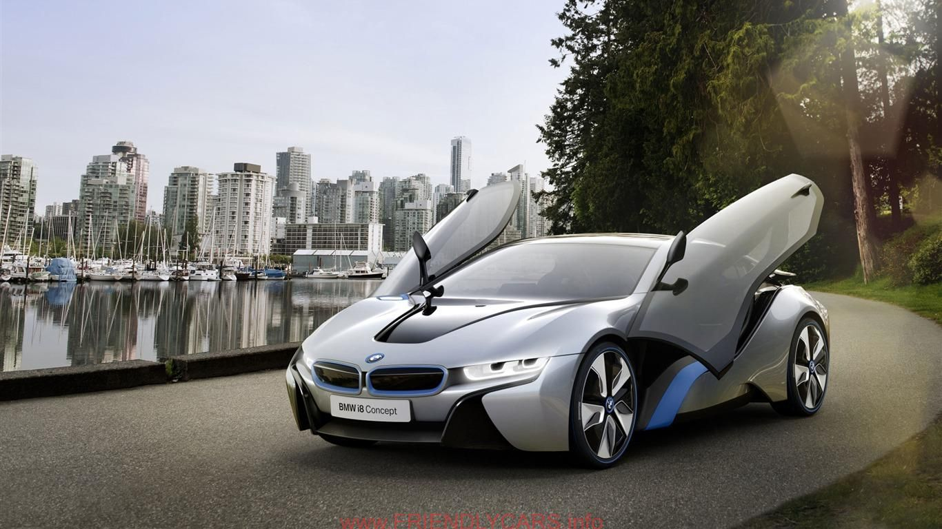 Awesome Bmw I8 White Car Images Hd Bmw I8 Brand Concept Car Hd