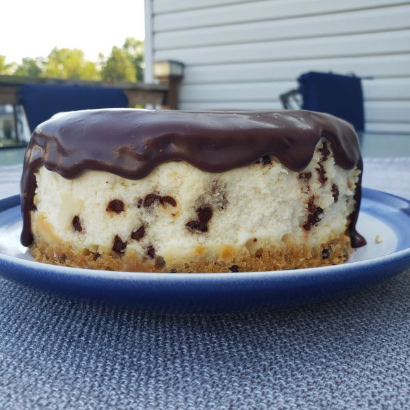 Cookie Dough Cheesecake #lemonblueberrycheesecake