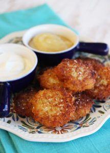 Crispy Yukon Gold Latkes {Potato Pancakes} Potato
