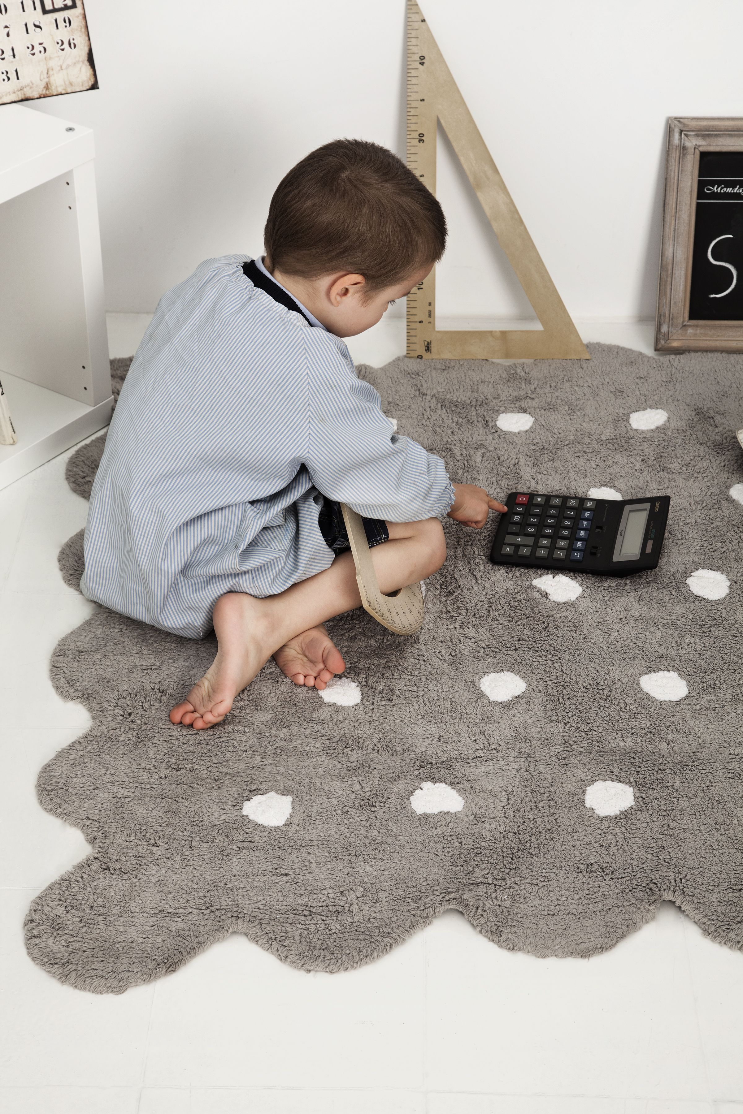 The Cutest Kid Working Ideas Biscuit Washable Rug Eco Friendly