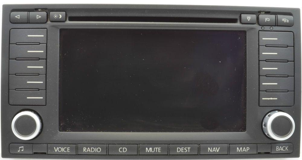 2006 2007 volkswagen touareg oem radio navigation bosch. Black Bedroom Furniture Sets. Home Design Ideas