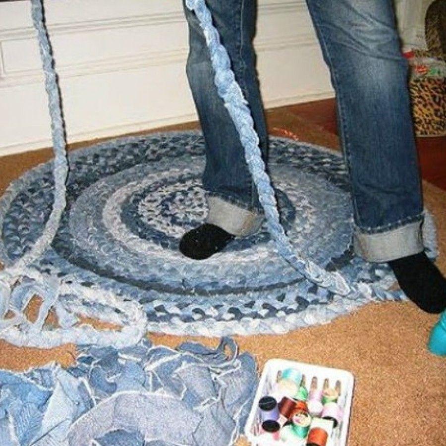 Как сшить покрывало из старых джинсов: Мастер