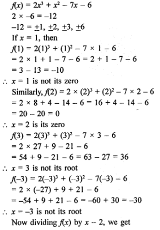 Rd Sharma Class 9 Solutions Chapter 6 Factorisation Of Polynomials Ex 6 2 7 Math Formulas Mathematics Math