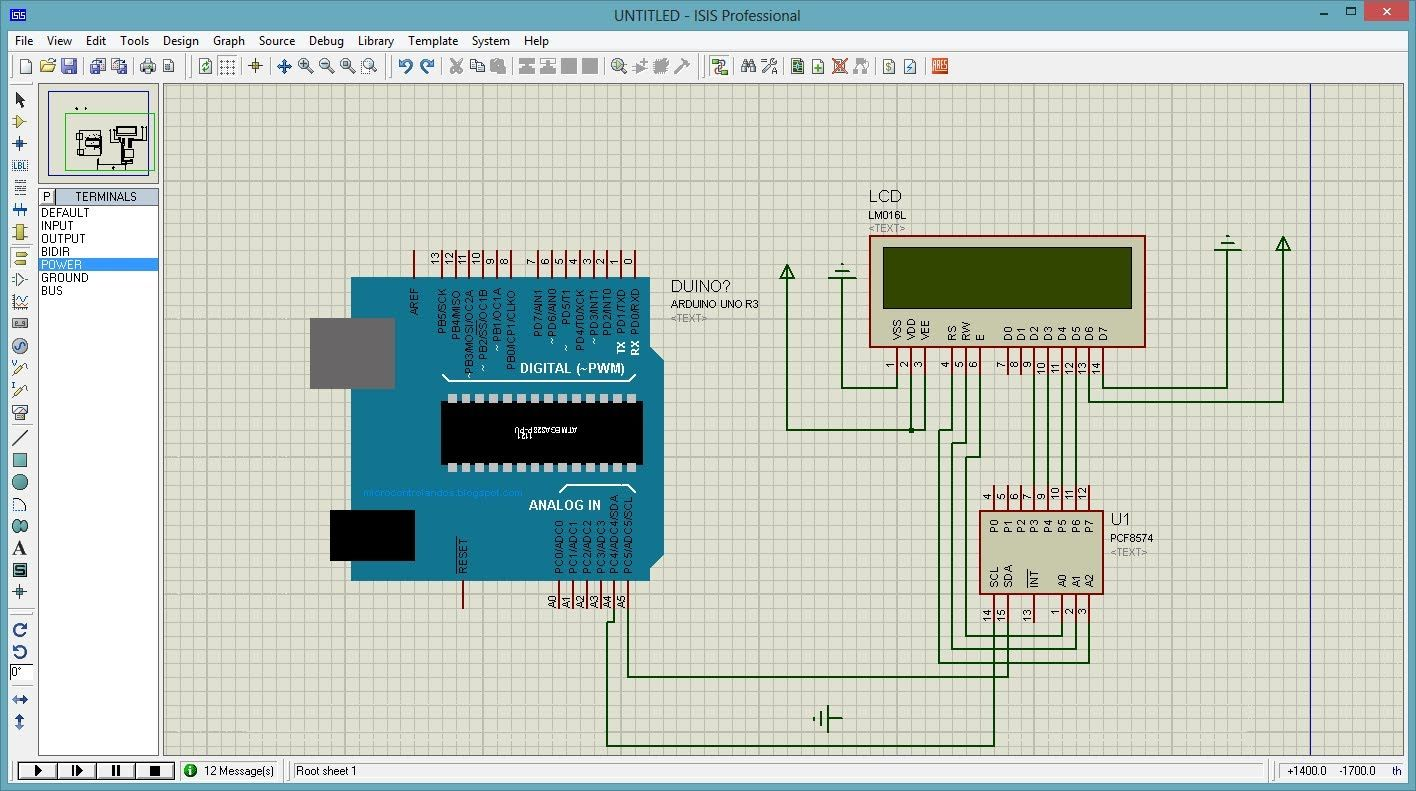 Proteus Isis And Arduino Uno Simulator Circuits 10 Projects Electronics Mac Printed Circuit