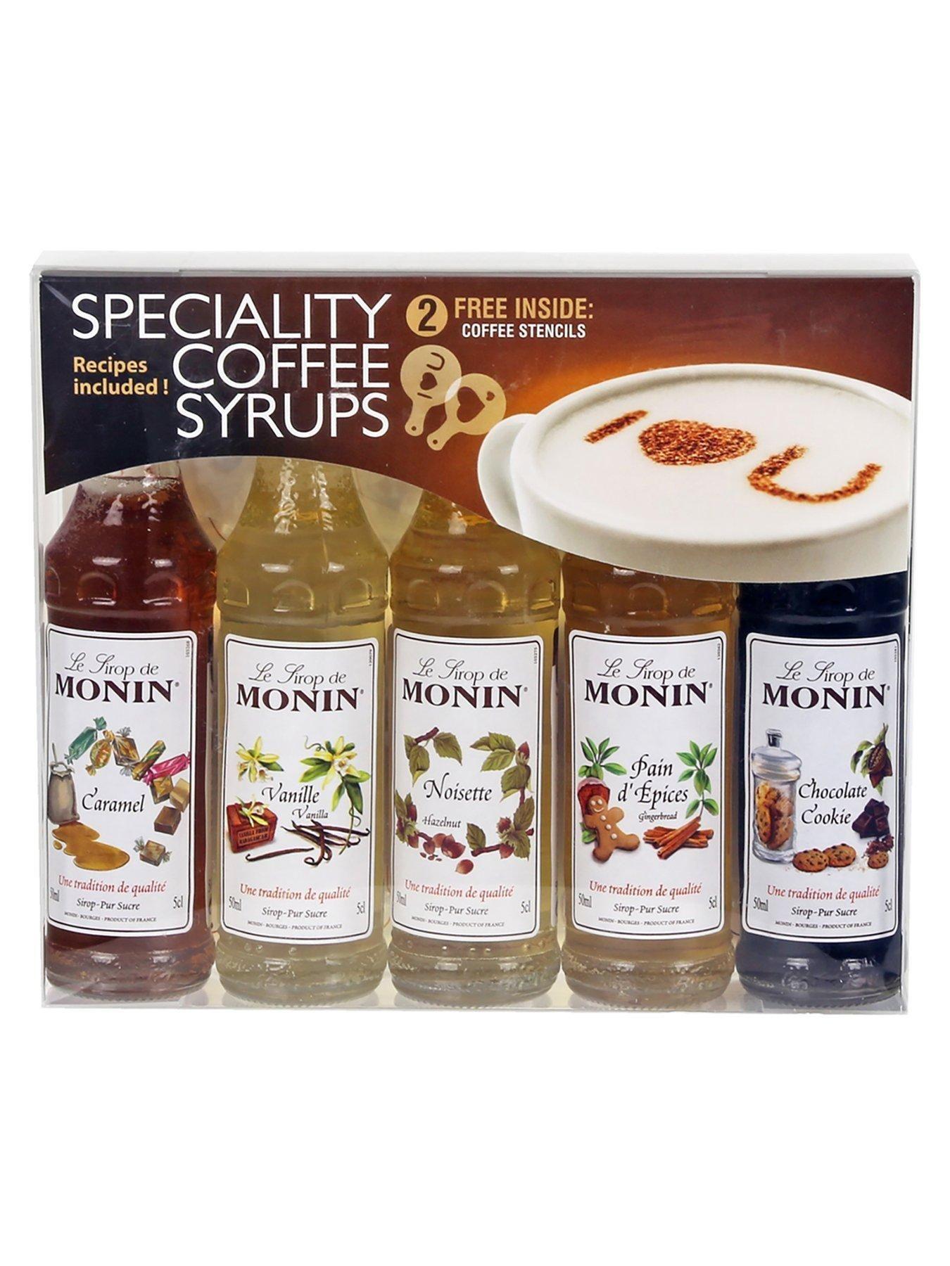 Costa Coffee 5X Monin Syrups Set One Colour Monin