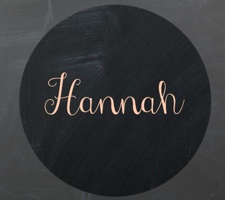 Cute Nicknames For A Girl Named Hannah