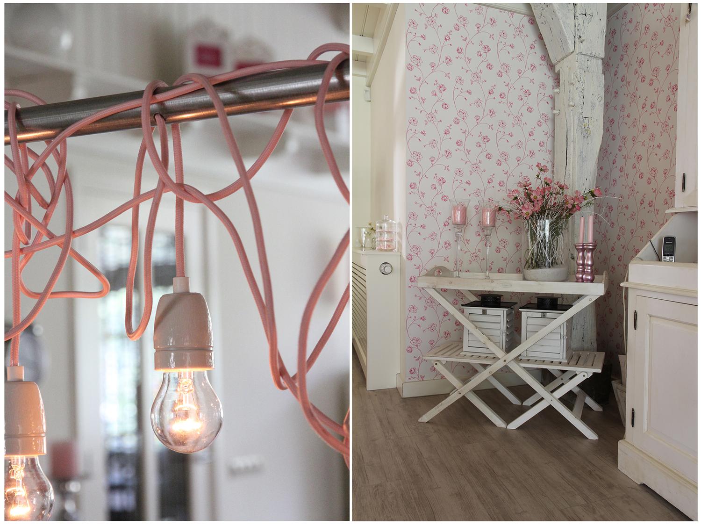 Landelijke en brocante accessoires, wit en roze   Idee u00ebn voor het huis, home decoration ideas