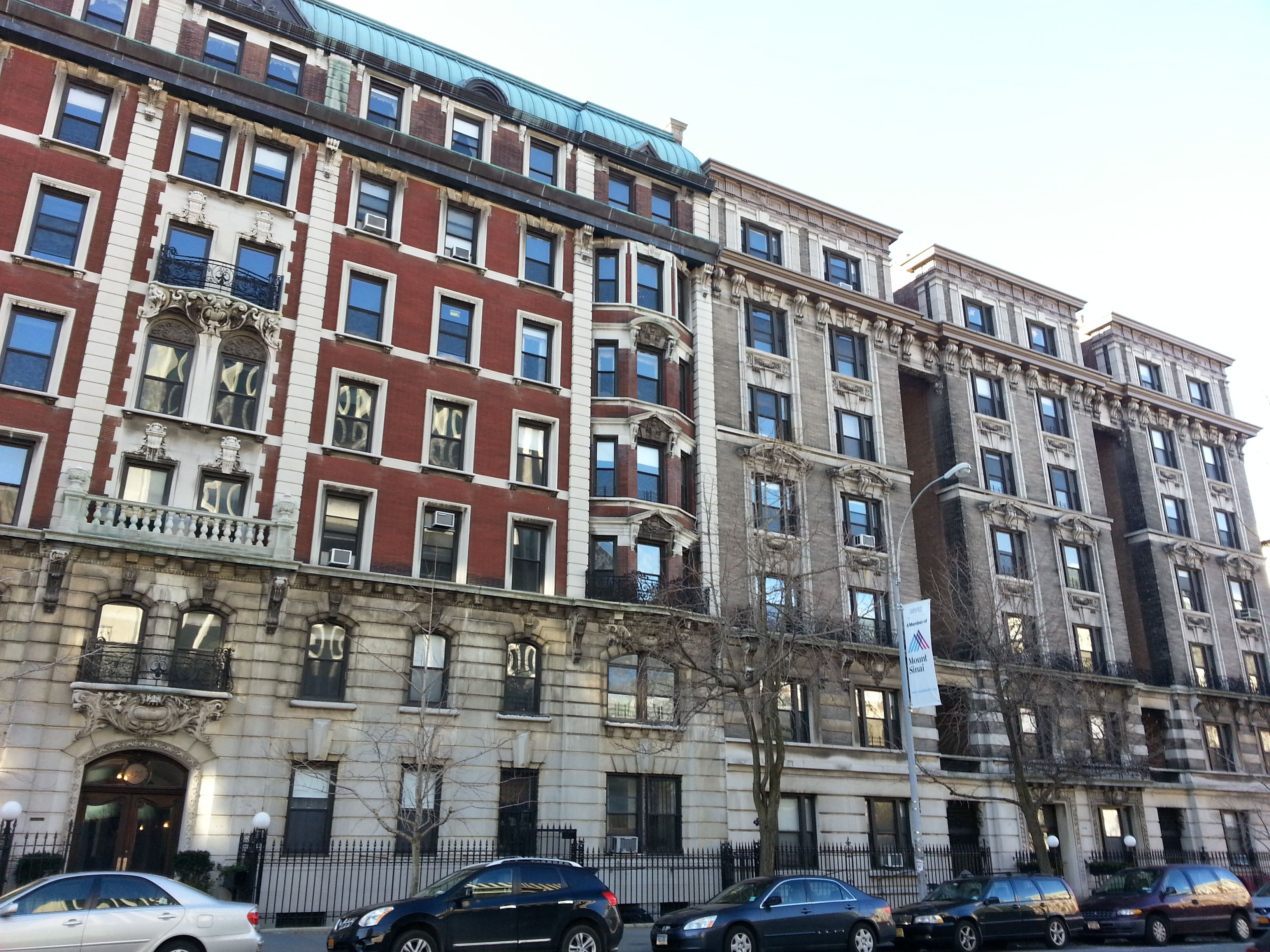 new york apartments outside behind Google Search animation