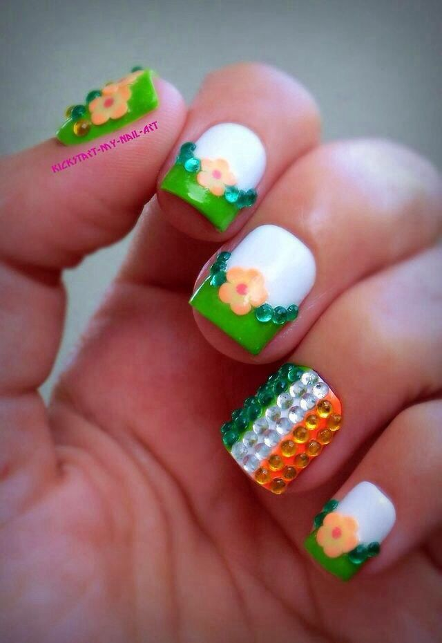 Nice nails | Nice Nails | Pinterest | Spring nails, Nail nail and ...