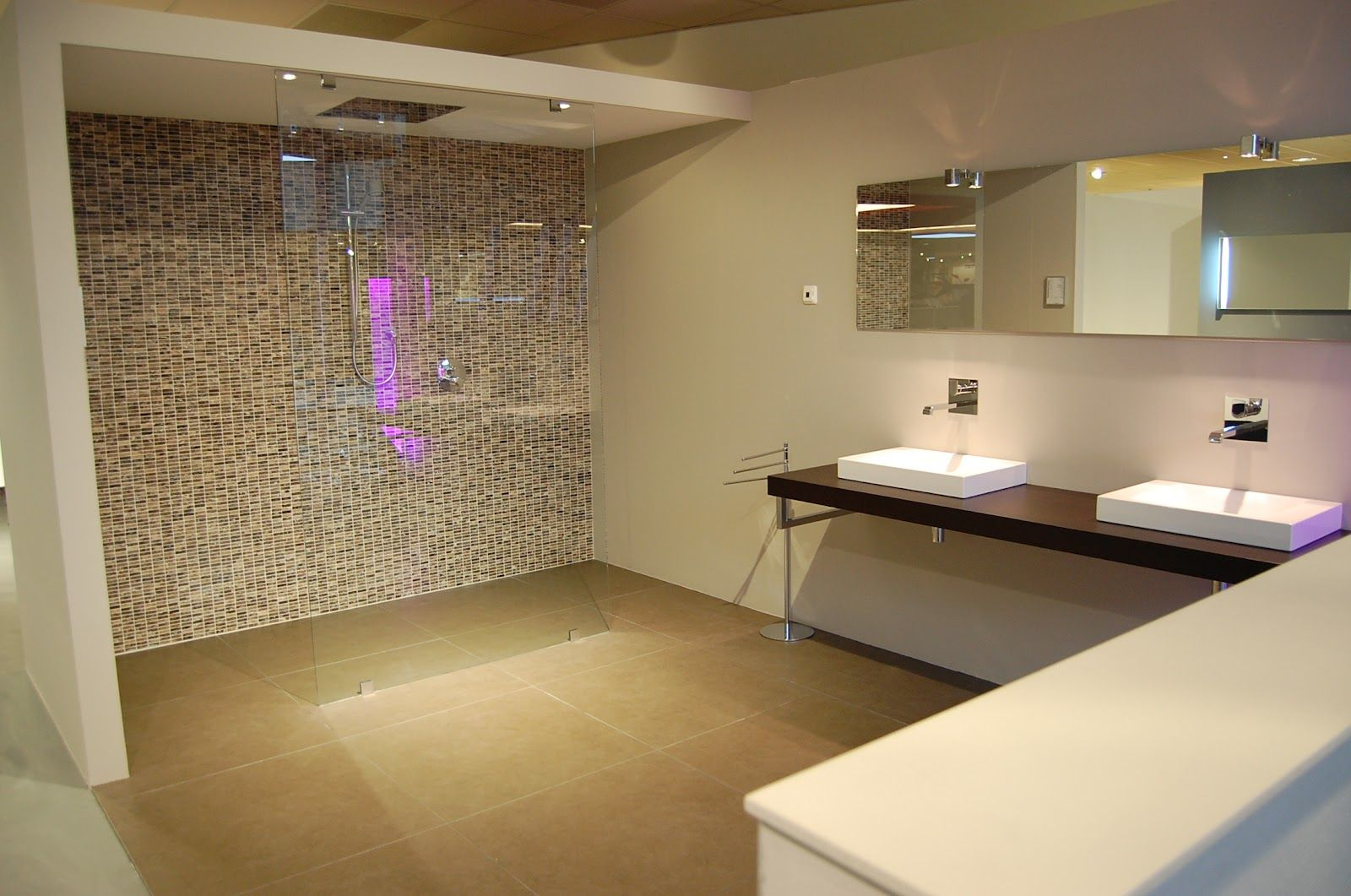 Badkamer inloopdouche modern modern badkamer interieur elegant