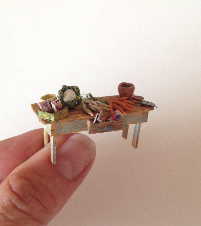 Miniature 1 4 1 48 Quarter Inch Garden Shed Or Kitchen