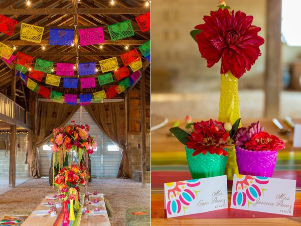 Fiesta on the farm wedding inspiration fiestas fiesta - Carrillo decoracion ...
