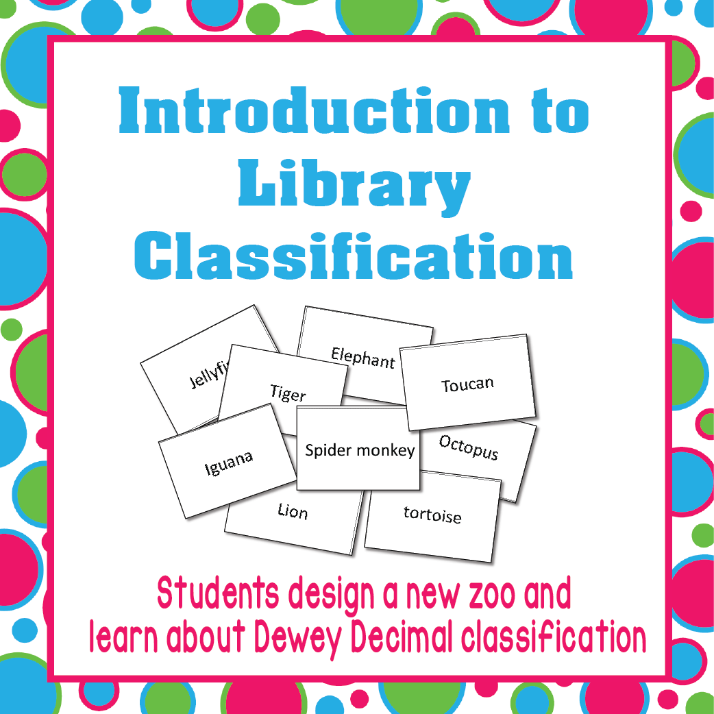 Dewey Decimal Introduction Lesson Idea