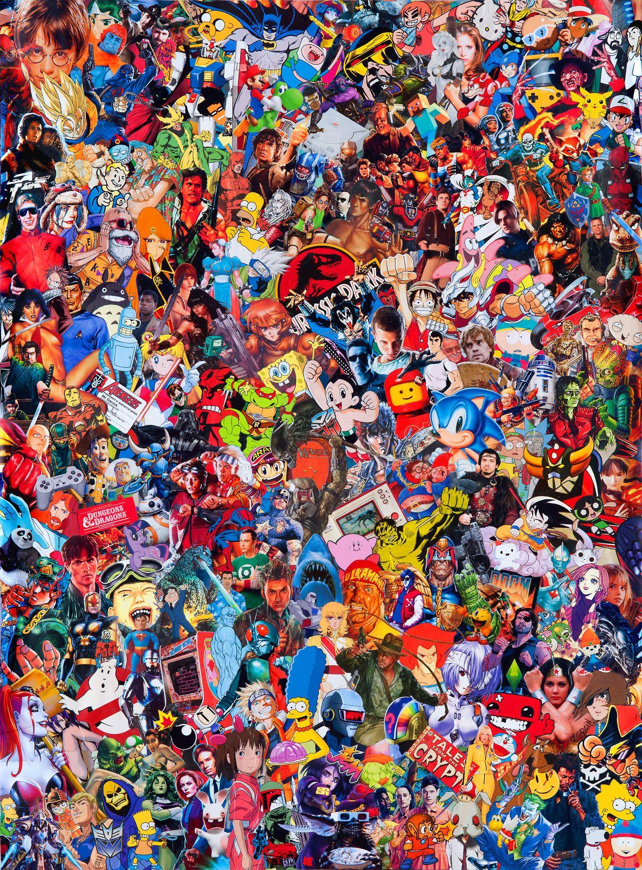 Geek by Mr Garcin 2016 in 2020 Geek art, Pop culture
