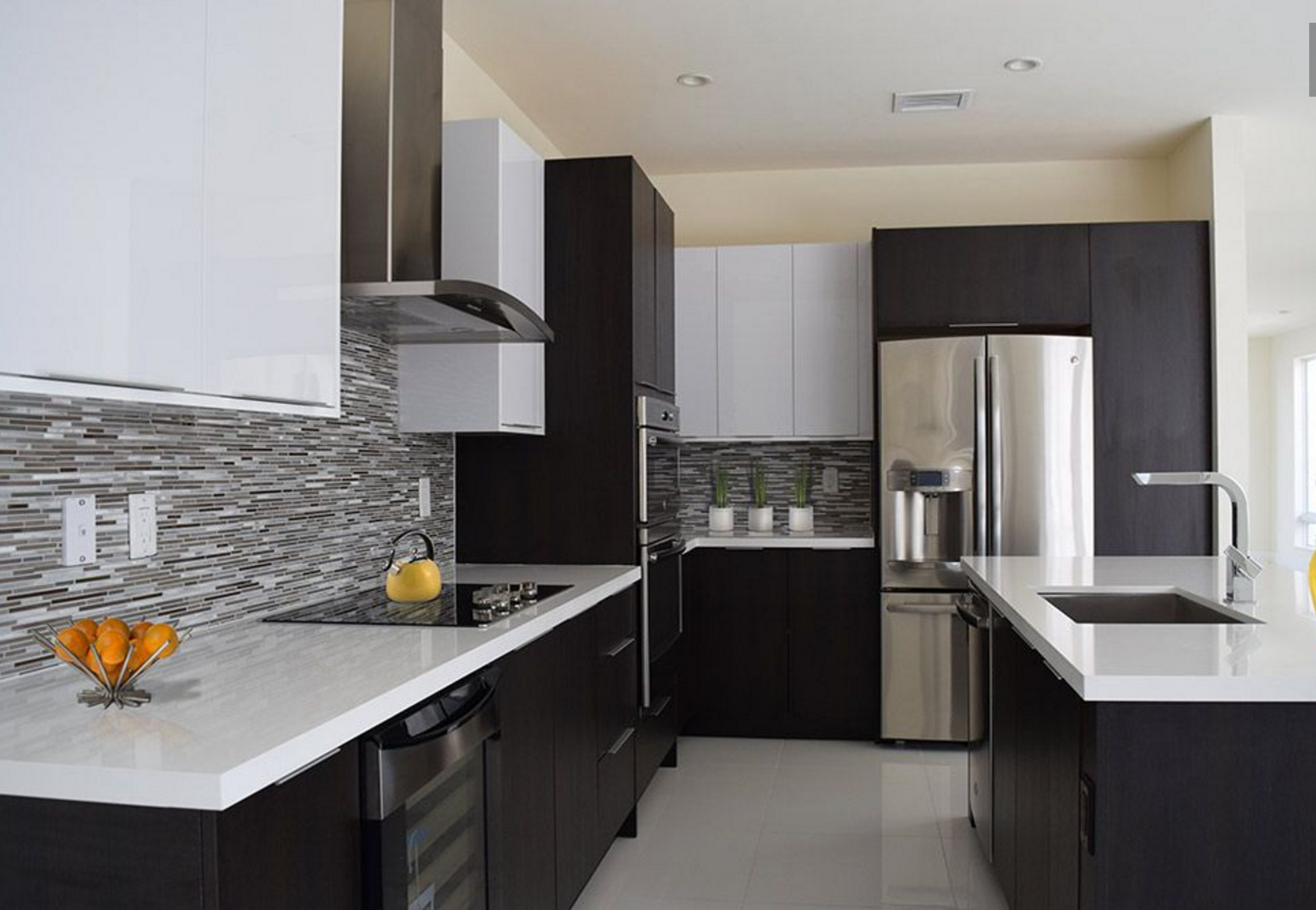 What Would You Cook Up In This Sleek And Functional Kitchen Featuring Italian  Cabinetry Products?